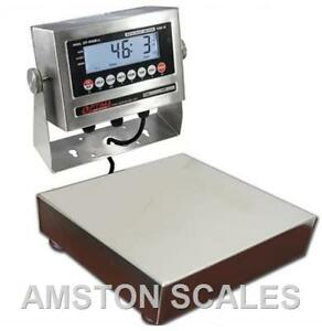 Stainless Steel 10 X 10 60 X 0 002 Lb Digital Scale Shipping Food Warehouse New