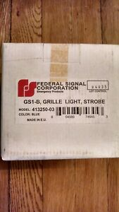 New Federal Signal Gs 1 Strobe Grille deck Light