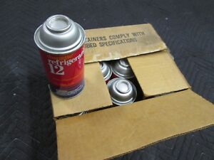 R 12 R12 Refrigerant 12 Cans Usa Made Chargette 12 Oz Cans