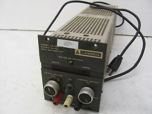 Lambda Regulated Power Supply Lq 522 0 40vdc 1 8a Output Used