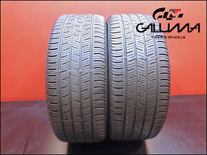 2 Two Tires Nice Continental 225 45 18 Contiprocontact 91v Runflat Bmw 48897