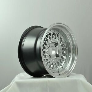New 4 Rota Wheel Wired 15x9 4x114 3 0 Royal Hypersilver 4 Lip Last Set