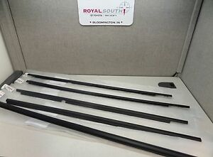 Toyota 4runner 03 09 Door Belt Moulding Kit Set 5pc Weatherstrip Genuine Oem Oe