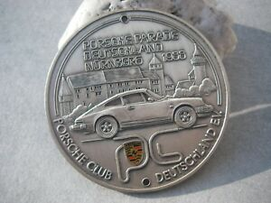Vintage German Porsche Club Deutschland Parade N rnberg 1988 Car Badge 911