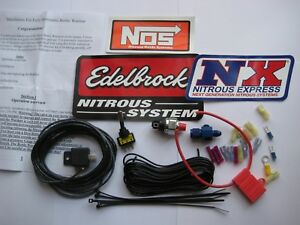 New Auto Pressure Control Nitrous Bottle Heater Electrical Upgrade Kit 2 20lb