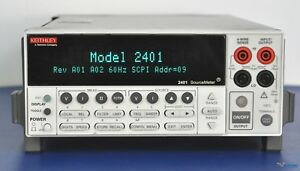 Keithley 2401 Sourcemeter Smu source Meter Nist Calibrated With Warranty