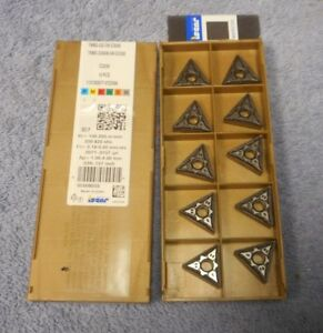 Iscar Carbide Inserts Tnmg 432 gn Grade Ic8350 Pack Of 10