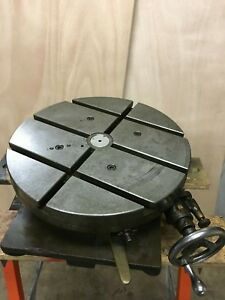 Rotary Table 15 Gorton 215 1