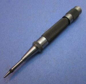 Starrett 18a Automatic Center Punch Adjustable Stroke Machinist