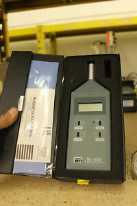 Sound Level Meter Sl 130 Pacer Industries Hwy