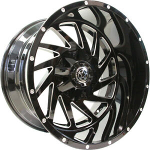 20x12 Black Dw13 6x135 6x5 5 44 Wheels Open Country Mt 35x12 5x20 Tires