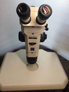 Carl Zeiss Research Stereo Microscope Stemi Sv 11 Apo W plan Apo S 1 6x