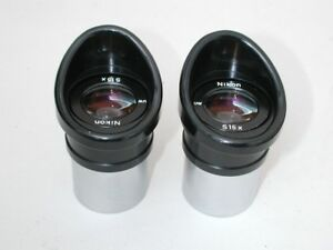 Nikon S 15x Uw Eyepieces For Stereo Microscopes W 30 Mm Tube Size