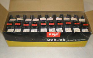 Federal Pacific Fpe20 20a 1pole Circuit Breakers new 10 In Box
