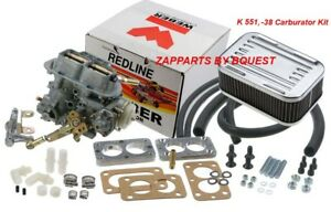 Jeep Redline K 551 38 Carburetor Kit
