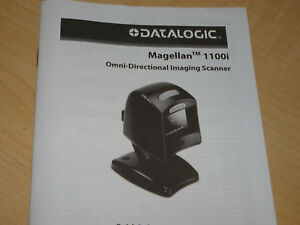 Datalogic Magellan 1100i Barcode Scanner Mg112041 001 412 W Stand And Usb Cable