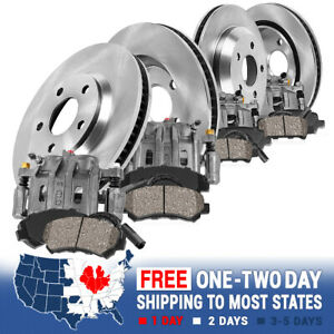 Front Rear Brake Calipers And Rotors Ceramic Pads For Bmw 328i 328i Xdrive