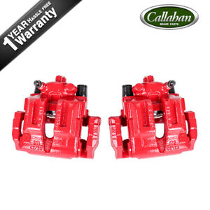 Rear Powder Coated Brake Caliper Pair For Bmw 325i 325xi 328i 328xi
