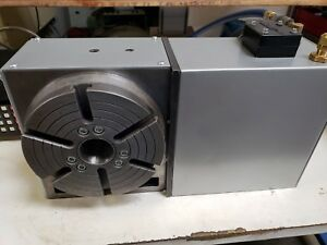 Haas Hrt 210 4th Axis Rotary Table Sigma 1 Brushless Serviced 2019 Video