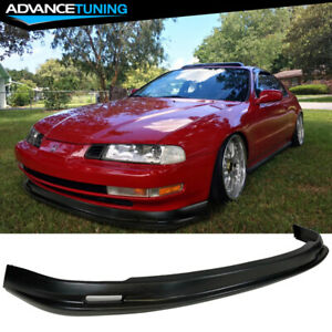 Fits 92 96 Honda Prelude Mugen Style Front Bumper Lip Pp