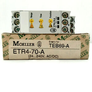 1pc Etr4 70 a Moeller Time Relay Timer Switch New