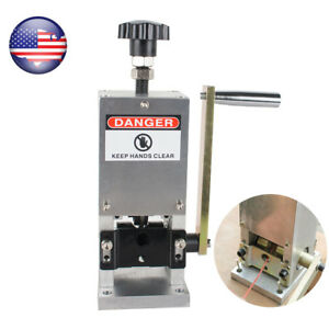 Recycle Copper Wire Stripping Machine Cable Stripper Manual Wire Tool Portable
