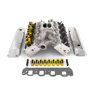 Fits Ford 289 302 Windsor Boss Hyd Roller Cylinder Head Top End Engine Combo Kit