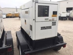 Multiquip Dca45 Portable Generator Set 36kw Prime Sa Enclosed Tier4i