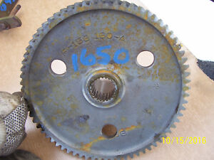 Vintage Oliver 1650 Tractor pto Lower Gear Shaft 1964