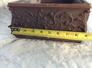 Antique Ornate Cast Iron Fireplace Wood Stove Part