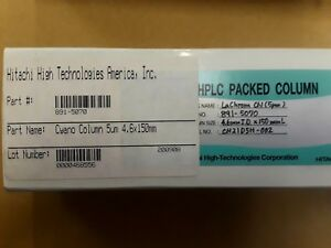 Hitachi Hplc Packed Column Cyano 891 5070 Lachrom Cn 5um 5 Um
