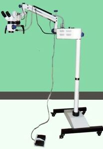 New Dental Surgical Microscope motorized With Accessories Lab Life