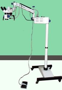 New Dental Surgical Microscope motorized With Accessories Heathcare