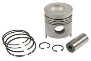 Piston With Rings 040 Ford 8000 8200 8600 8700 Tw10 Tractor