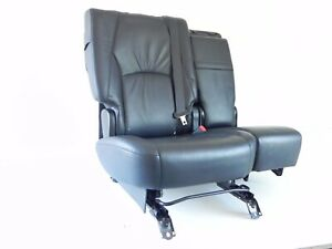 2006 2008 Lexus Rx400 Rear Seat Rear Bench Black Leather Oem 822 13