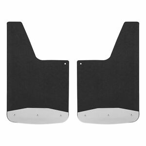 Luverne Universal Textured Rubber Mud Guards Black 251220