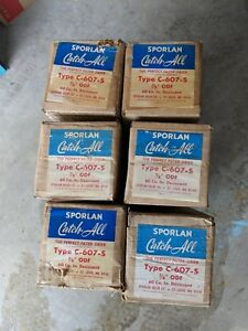 Lot Of 6 New Old Stock Sporlan C 607 s Catch all Filters
