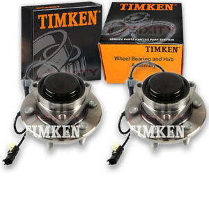 Timken Front Wheel Bearing Hub Assembly For 2015 2016 Chevrolet Suburban Ie