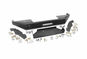 Rough Country Front Winch Bumper black For Cherokee Xj 10570