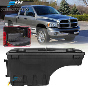 Fits 02 18 Ram 1500 2500 3500 Truck Storage Box Swing Case Toolbox Driver Side