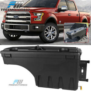 Fits 15 19 Ford F150 Abs Truck Bed Storage Box Toolbox Passenger Side