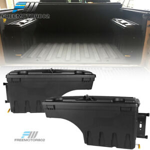 Fits 15 19 Ford F150 Storage Box Swing Case Toolbox Driver Passenger Side