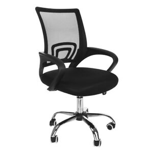 Ergonomic Adjustable Office Chair Computer Desk Task Swivel Chairs Mid back Home