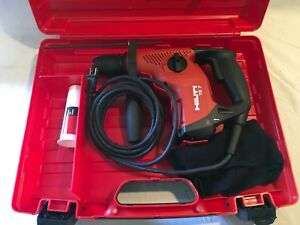 Hilti Te 7 Sds Plus Rotary Hammer Drill With Case