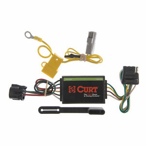 55367 Curt 4 Way Flat Trailer Wiring Connector Harness Fits Toyota Tundra