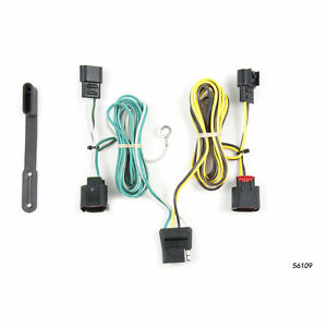 56109 Curt 4 way Flat Trailer Wiring Connector Harness Fits Dodge Journey