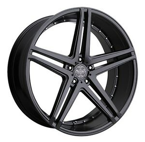 26 Inch 26x10 Versante Ve233 Matte Black Wheel Rim 6x5 5 6x139 7 30