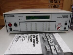 Associated Research Hypot Ultra Ii Dieelectric Analyzer 7530dt