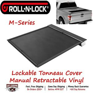 Lg102m Roll N Lock Retractable Tonneau Cover Ford F 150 6 6 Bed 2015 2019