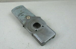Nice Original South Bend 9 10k Lathe Compound Rest Base Slide Gib And Nut